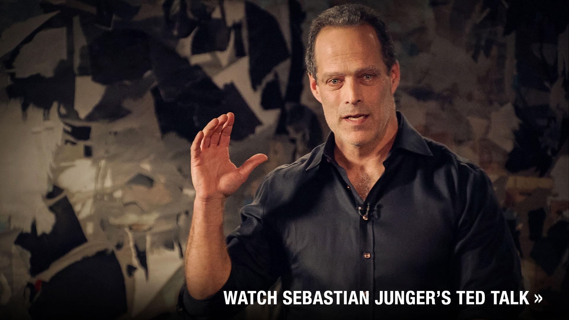 Sebastian Junger's last patrol. | ideas.ted.com