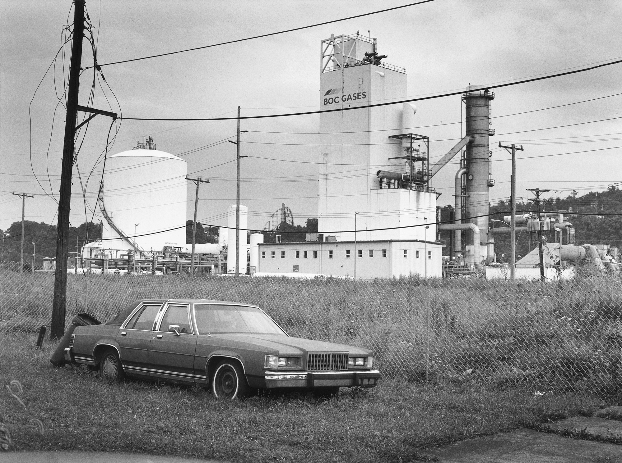 """""""There used to be a project complex here, the Talbot Towers. I was born and raised there. Through my photographs I excavate hidden histories."""" The Bottom 2009, from """"The Notion of Family"""" (Aperture 2014)."""