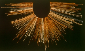 An example of a quipu from the Inca Empire. Photo by Claus Ableiter (CC BY-SA).