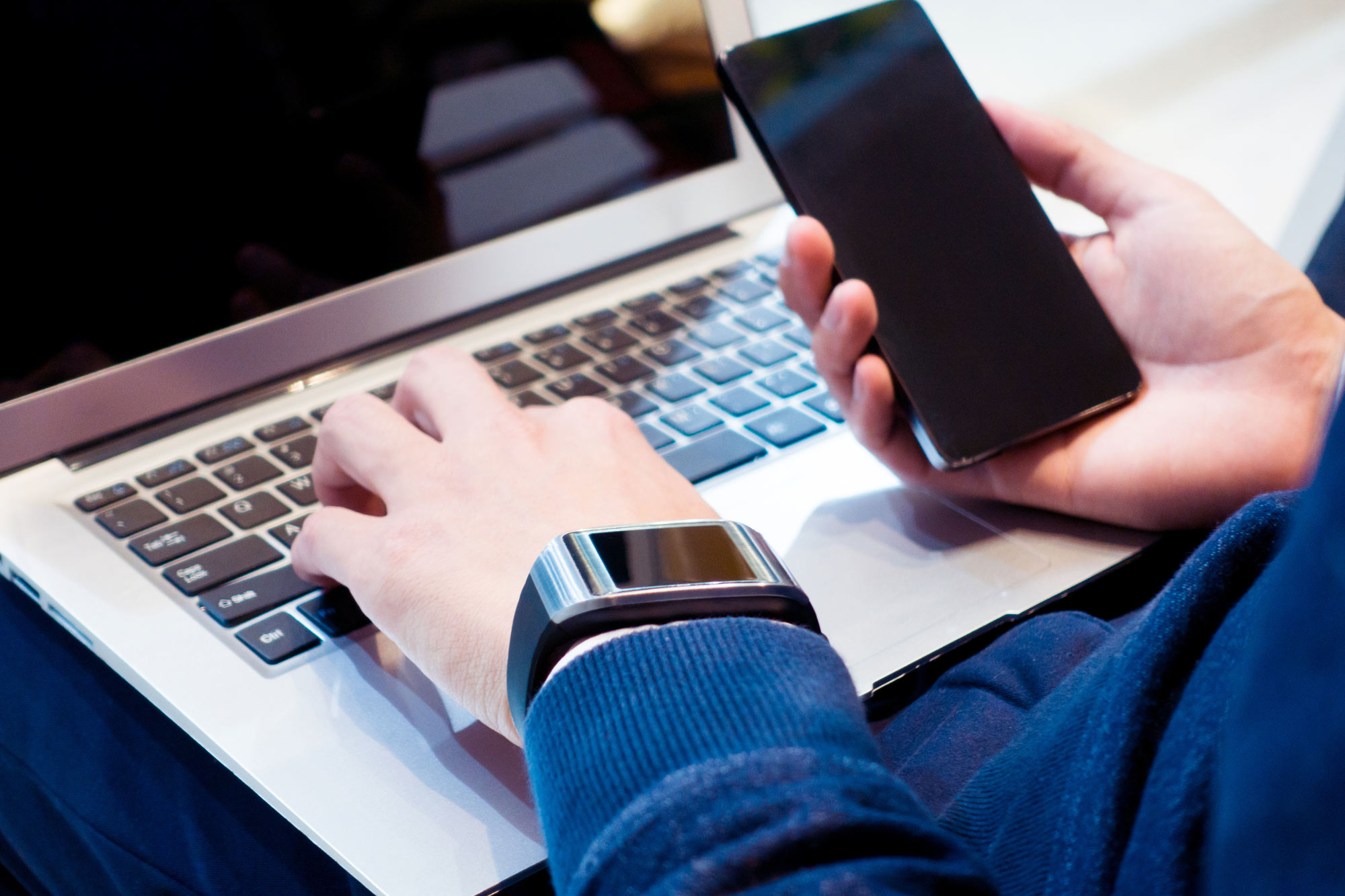 Is there such thing as too much technology? Photo: iStock.
